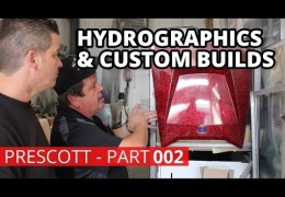 Hydrographics, Upholstery & Car Builds – Prescott AZ (Part 2)