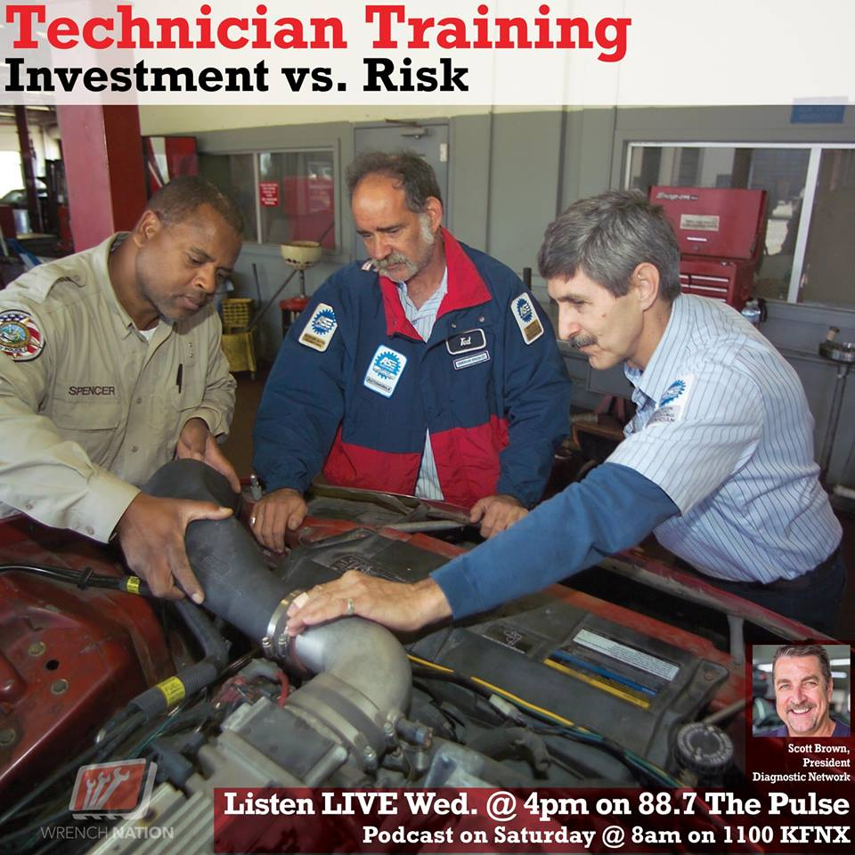 Technician Training: Investment Vs. Risk