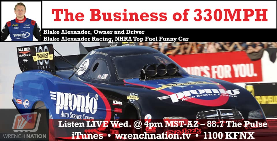 #143 The Business of 330 MPH Blake Alexander