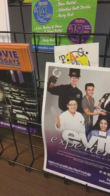 Facebook Live 3/4/19: A LIVE tour of East Valley Institute of Technology, EVIT radio station ~