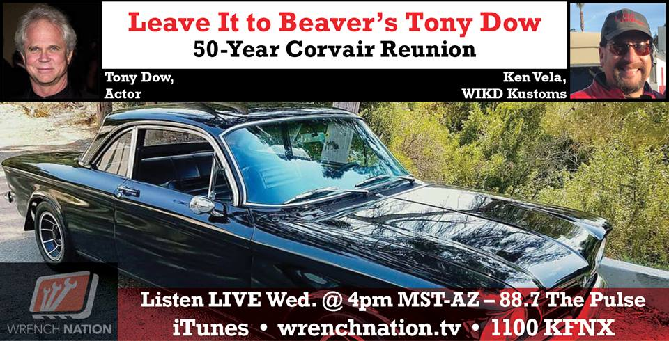 #151 50 Year Reunion Tony Dow Corvair
