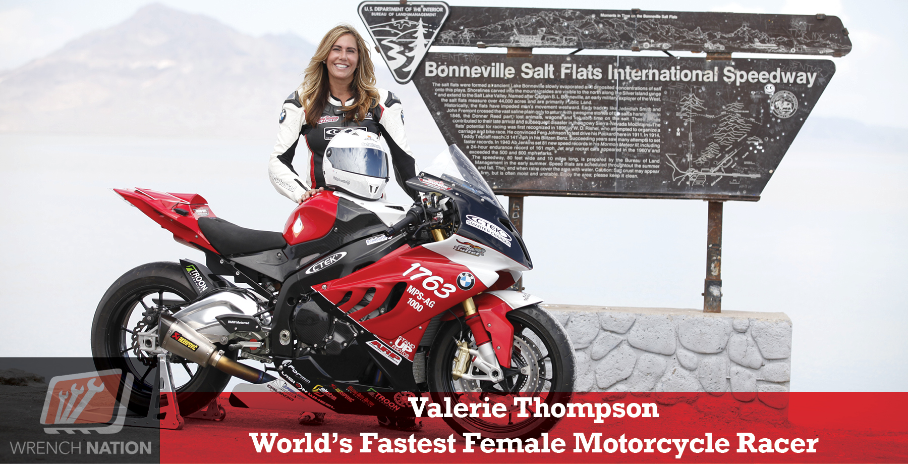 #157 Fastest Female on 2-Wheels Attempts 4-Wheel World Land Speed Record