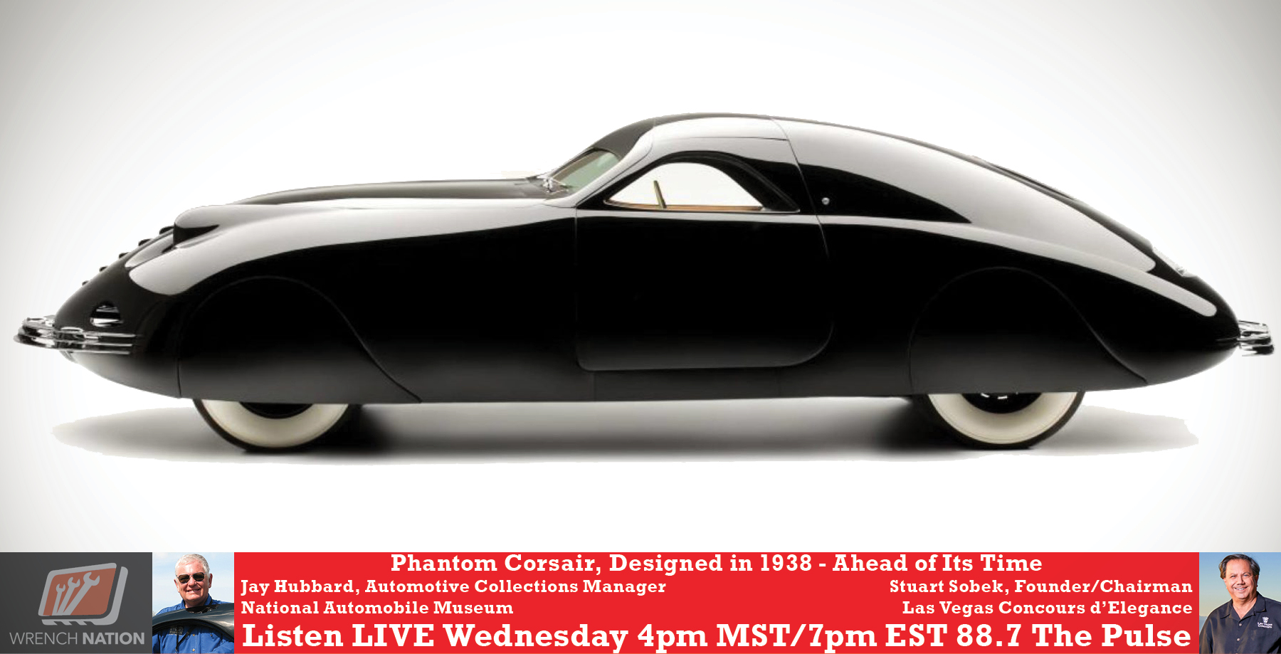 #174 1938 Phantom Corsair! From National Auto Museum to Inaugural Las Vegas Concours!