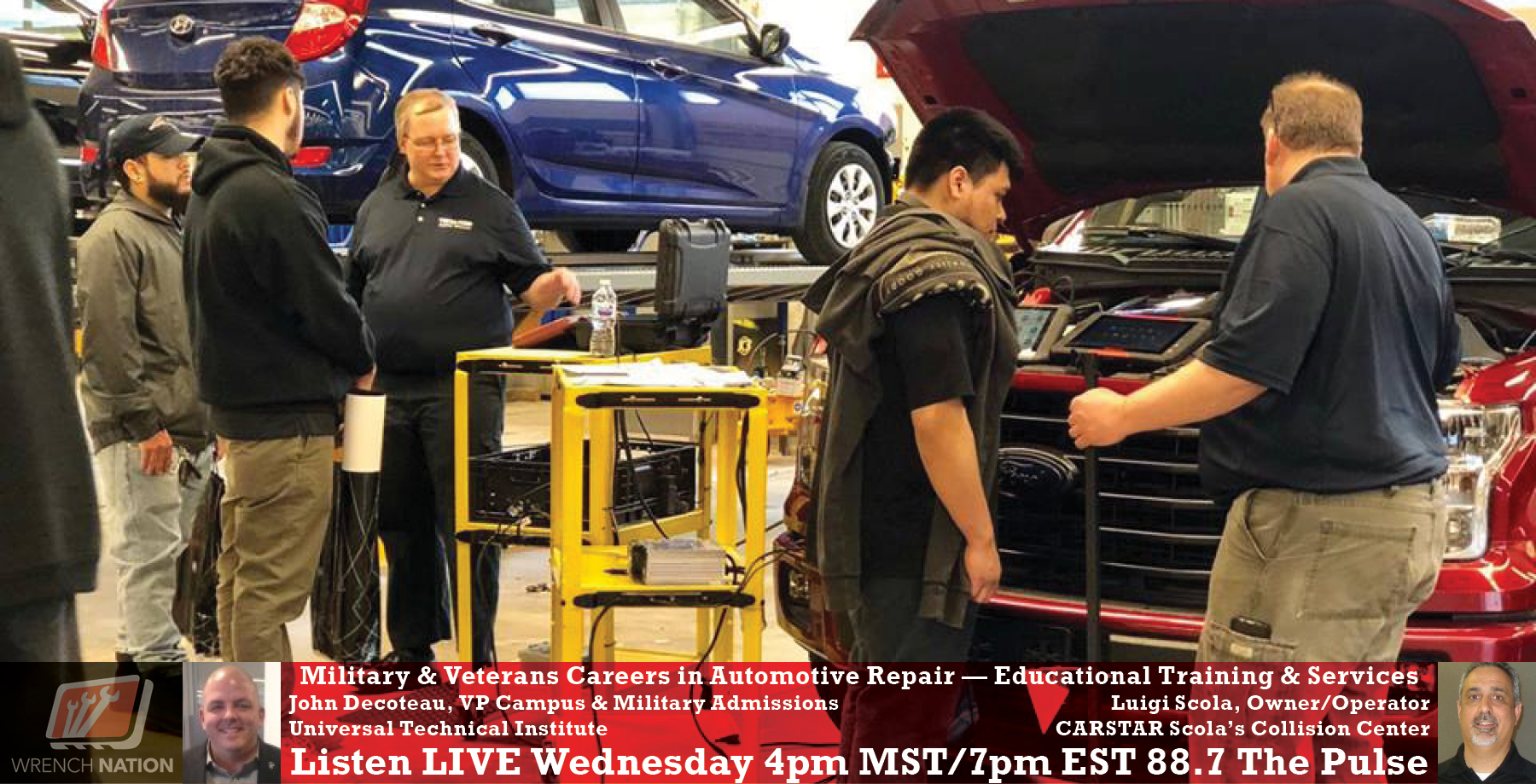 #177 Military Veterans Gain Traction with Automotive Skills & Careers
