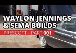Waylon Jennings Limo, SEMA 2015 & Ozzy Drummer – Prescott AZ (Part 1)
