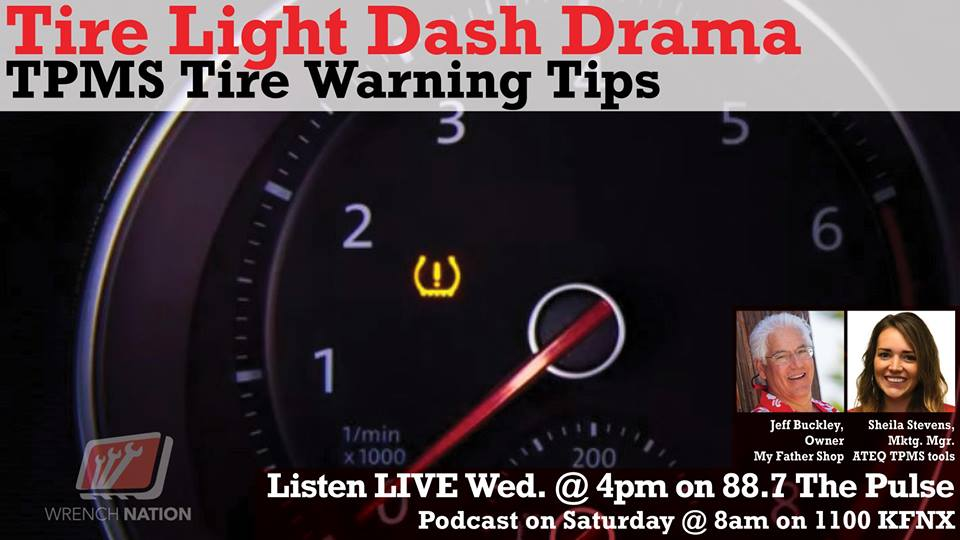 #128 Tire Light Drama-TPMS Explained -LIVE -ATEQ from SEMA\AAPEX 2018
