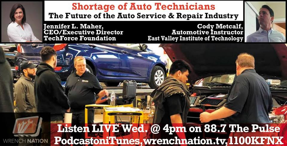 #136 The Shortage of Mechanics