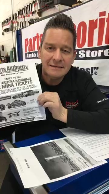 Facebook Live 1/29/19: Can't Maintain Fuel Tank Vacuum / NHRA Tickets