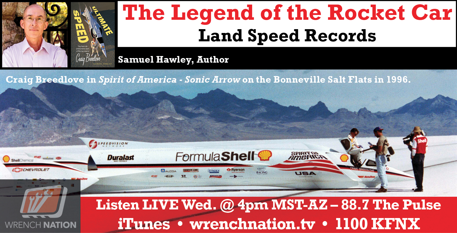 #138 Land Speed Record Samuel Hawley -Craig Breedlove Spirit of America