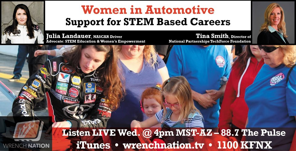 #153 Women in Automotive: Support For STEM Based Careers