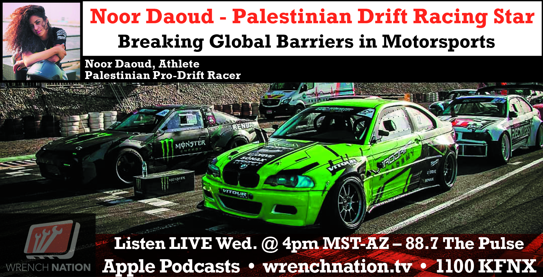 #155 Noor Daoud: Drift Life – Breaking Global Barriers in Motorsports