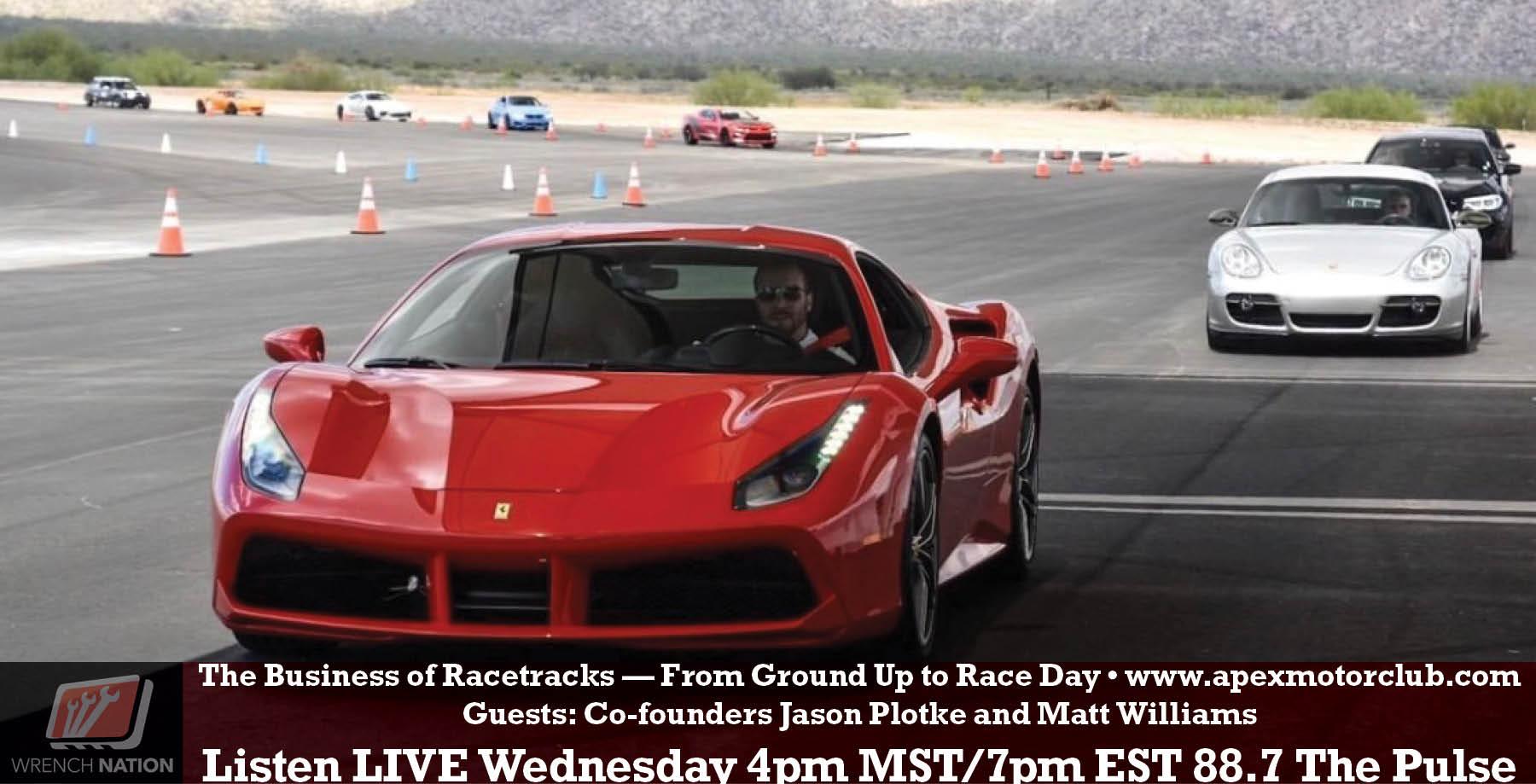 #165 Apex Motor Club – Luxury Car Condos Meets Racetrack
