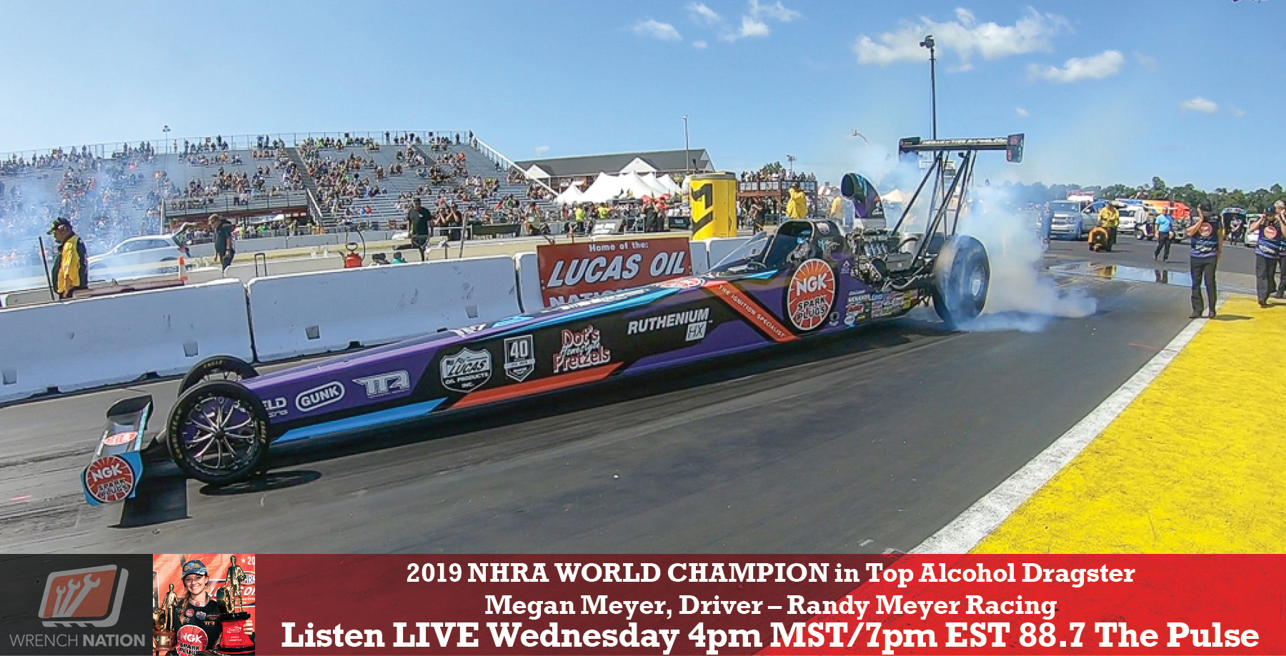 #179 First Woman World Champion NHRA Top Alcohol Dragster