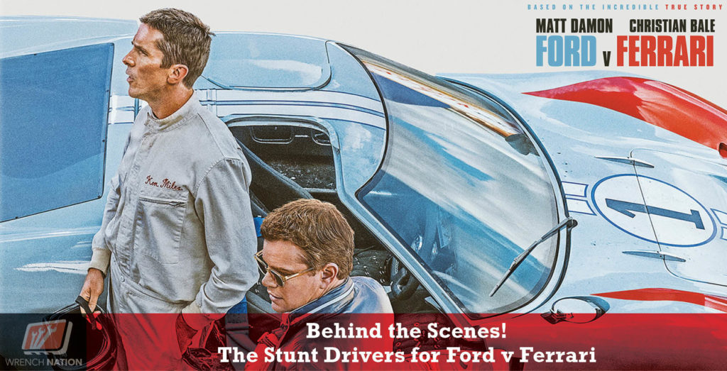 #190 Ford v Ferrari: Stunt Drivers Share Behind the Scenes