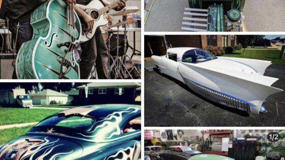 #235 Kustom Car Builder : Larry Grobe Voodoo Larry Kustoms